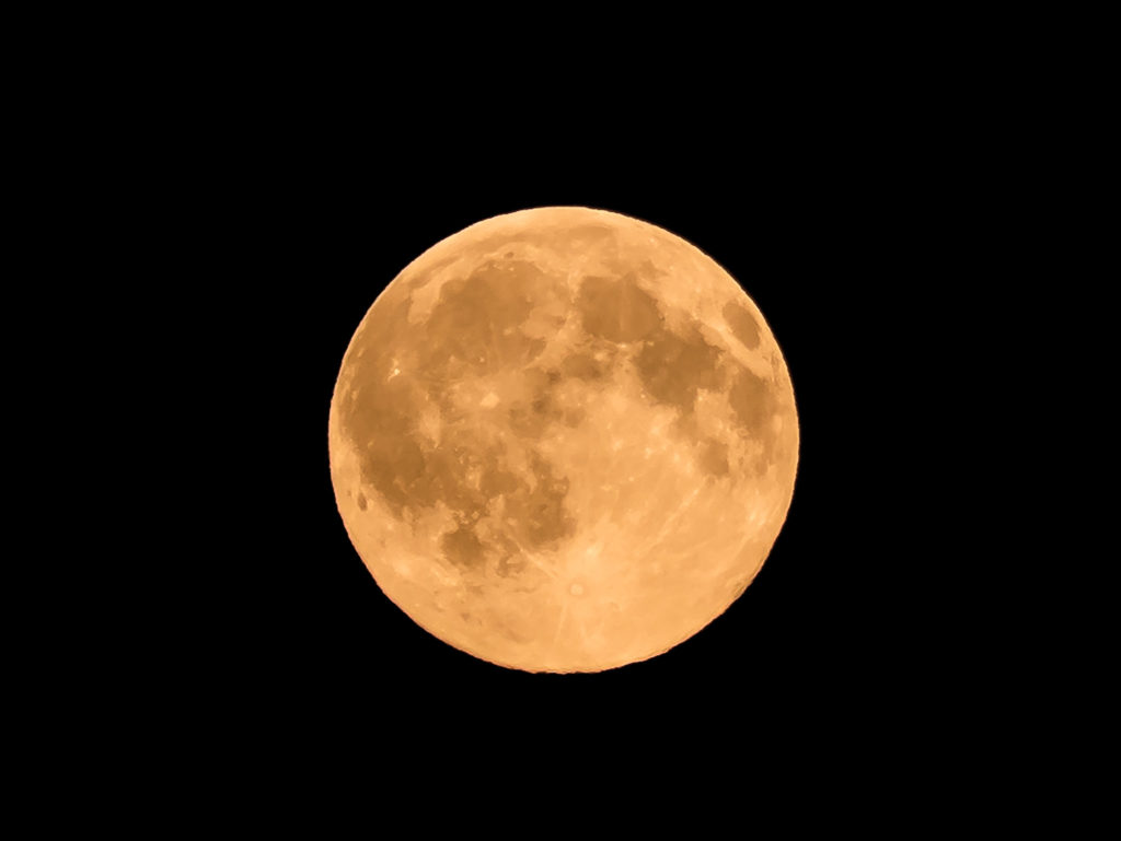 'BUCK MOON' The Natural Fireworks Starting 4th OF July, 2020