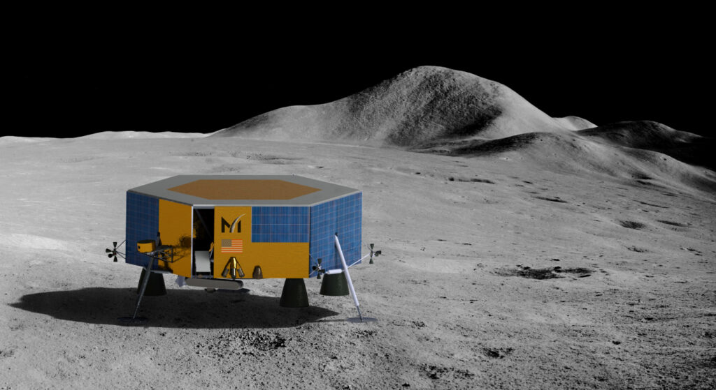 In 2022, Masten's Initial Lander To The Moon Will Is Inducted By Spacex